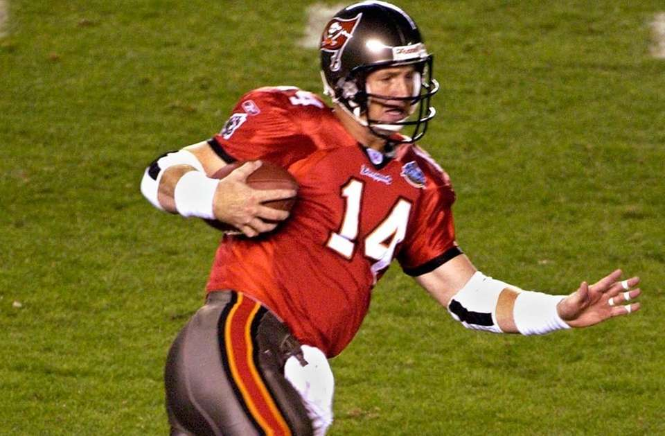 BRAD JOHNSON, Tampa Bay Buccaneers Super Bowls won:
