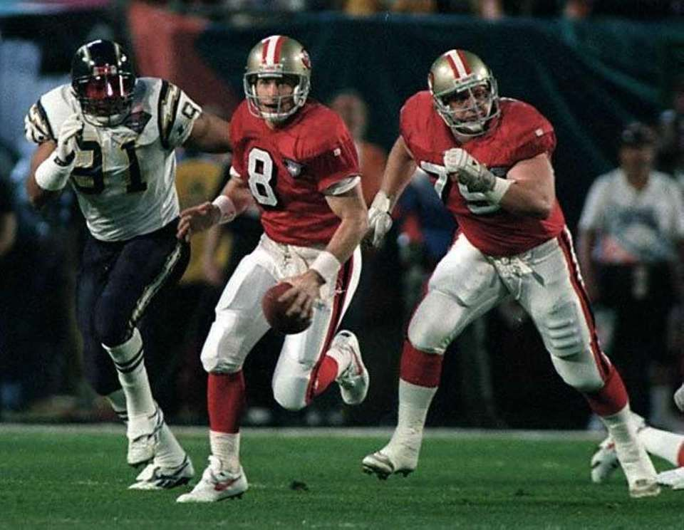 STEVE YOUNG, San Francisco 49ers Super Bowls won: