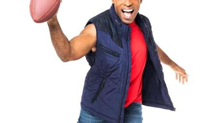Former Giants running back Tiki Barber is appearing