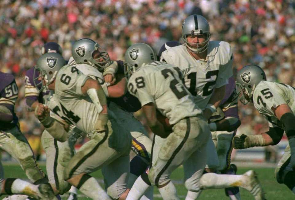 KEN STABLER, Oakland Raiders Super Bowls won: Super