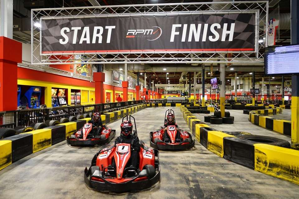 RPM Raceway in Farmingdale lets up to 10