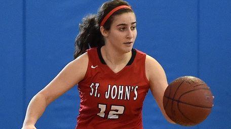 St. John the Baptist basketball player Allie Ponzio.