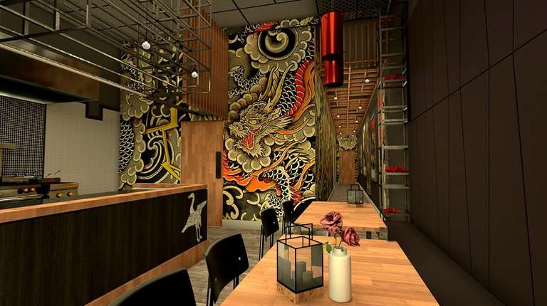 Bakuto is slated to open in May or