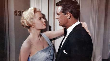 Grace Kelly and Cary Grant make a handsome