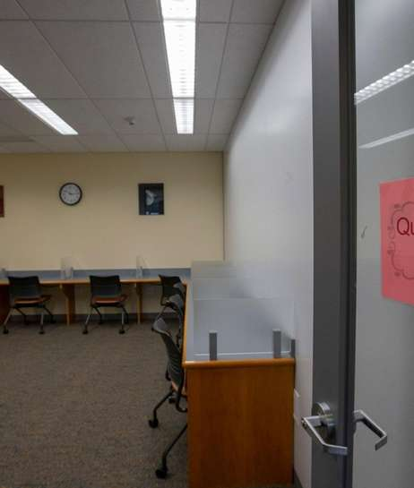 Quiet Room in the Baldwin public library on