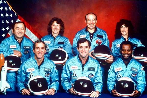 This 1986 file photo provided by NASA shows