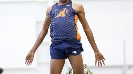 Manhasset triple jumper Meldon Grant