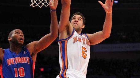 New York Knicks point guard Landry Fields (6)