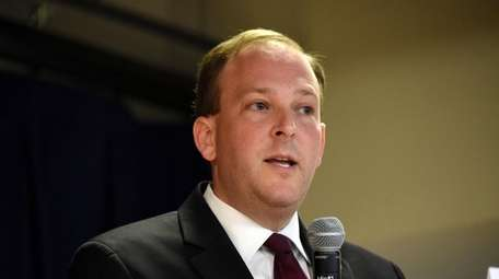 Rep. Lee Zeldin (R-Shirley) is seen Oct. 30,