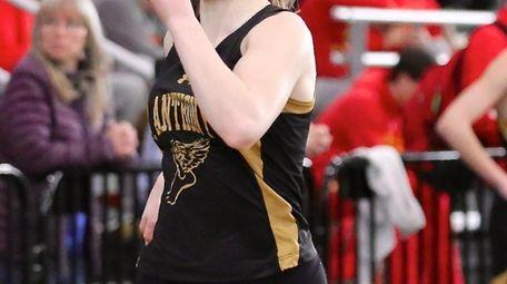St. Anthony's Melissa Cunningham wins the girls 55m