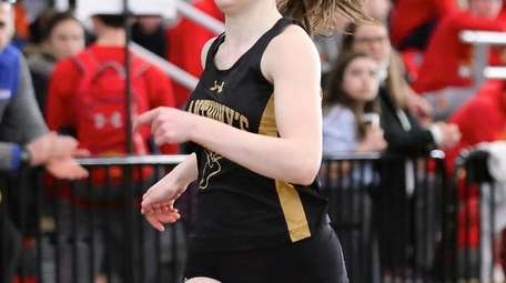 St. Anthony's Melissa Cunningham wins the girls 300-meter