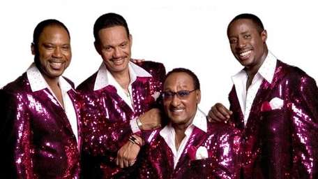 The Temptations and the Four Tops (pictured) play