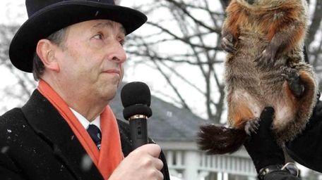 On Groundhog Day 2007, Malverne Mel did not