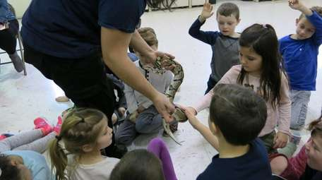In Smithtown, first-graders at Dogwood Elementary School had