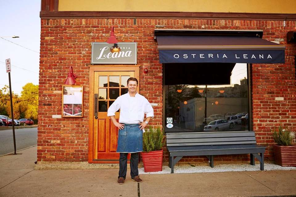 Chef Peter Van Der Mije outside of the
