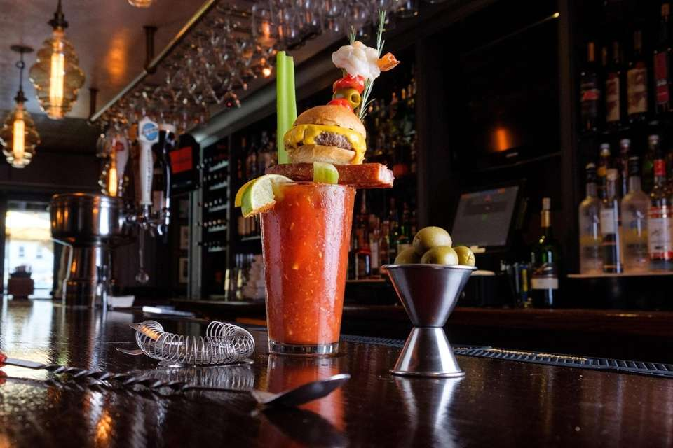 The Triple Threat Bloody Mary at Chadwicks American