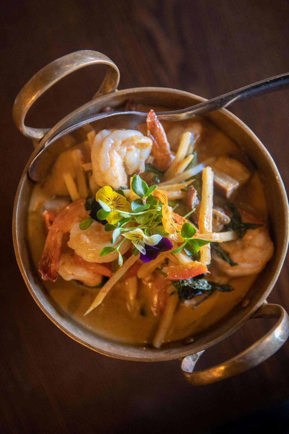 The seafood curry at Tum Thai in Rockville