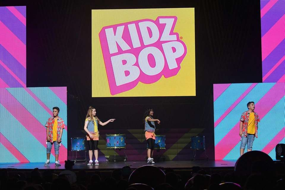 performs on stage during KIDZ BOP Live at