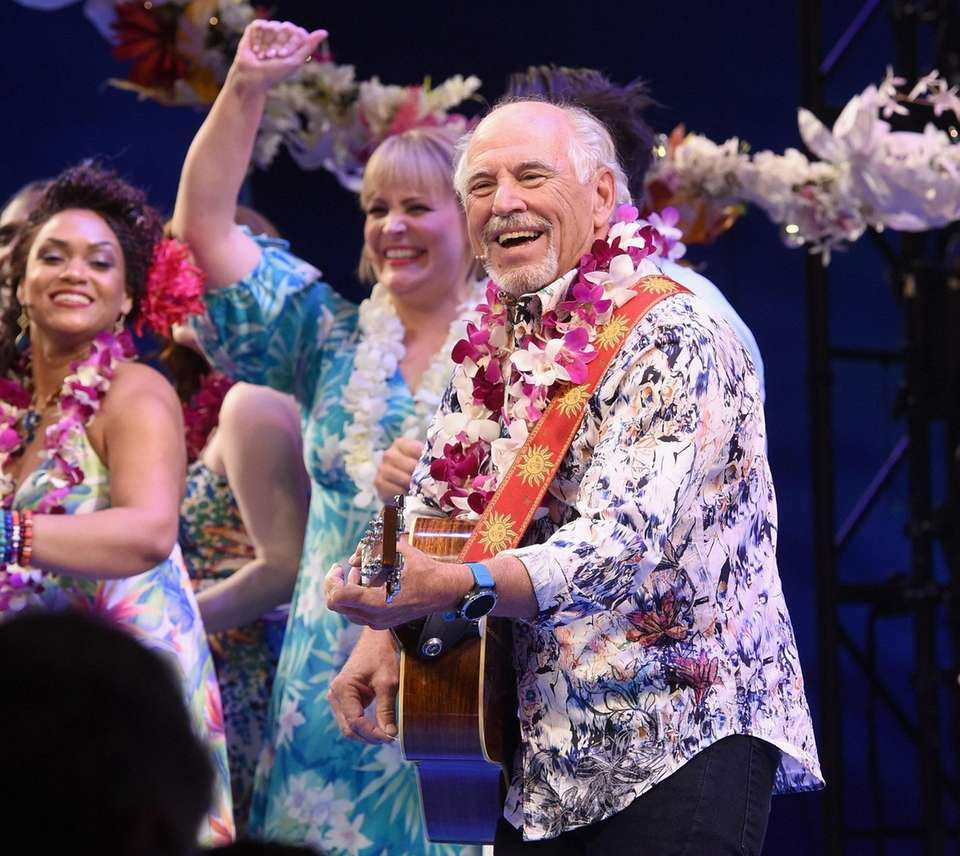 celebrate the Broadway opening of Escape to Margaritaville