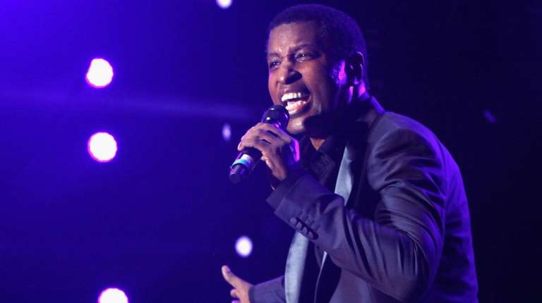 """Kenny """"Babyface"""" Edmonds performs onstage at 11th"""