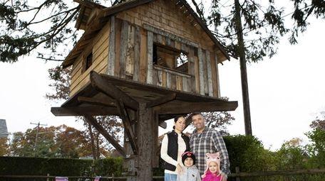 Noelle and John Lepper with their children Bayden,
