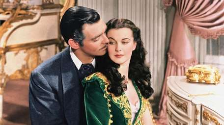 Clark Gable and Vivien Leigh in the classic