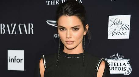 "Kendall Jenner attends Harper's Bazaar Celebrates ""ICONS By"