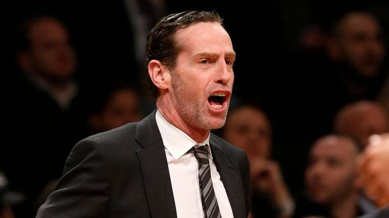 Head coach Kenny Atkinson of the Nets during