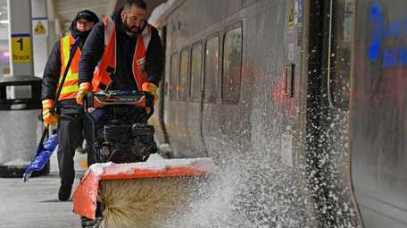 The LIRR is urging customers to use caution