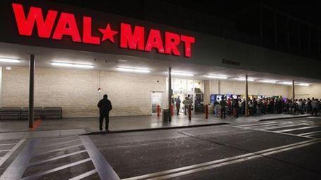 A file photo of a Walmart store.