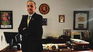 Nassau Police Commissioner Lawrence Mulvey announced his retirement,