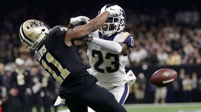 premium selection 80ca2 5de47 Rams' Nickell Robey-Coleman at center of non-penalty call in ...