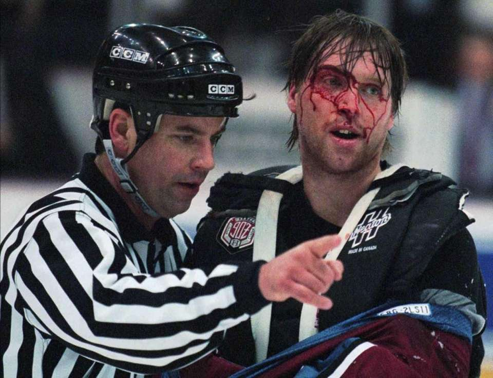 9) PATRICK ROY, AVALANCHE The Hall of Famer