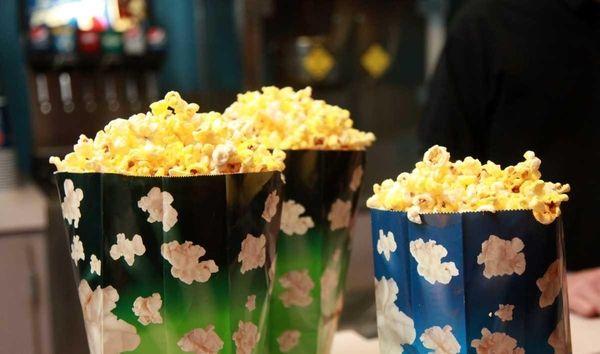 Popcorn is still very popular at the Malverne