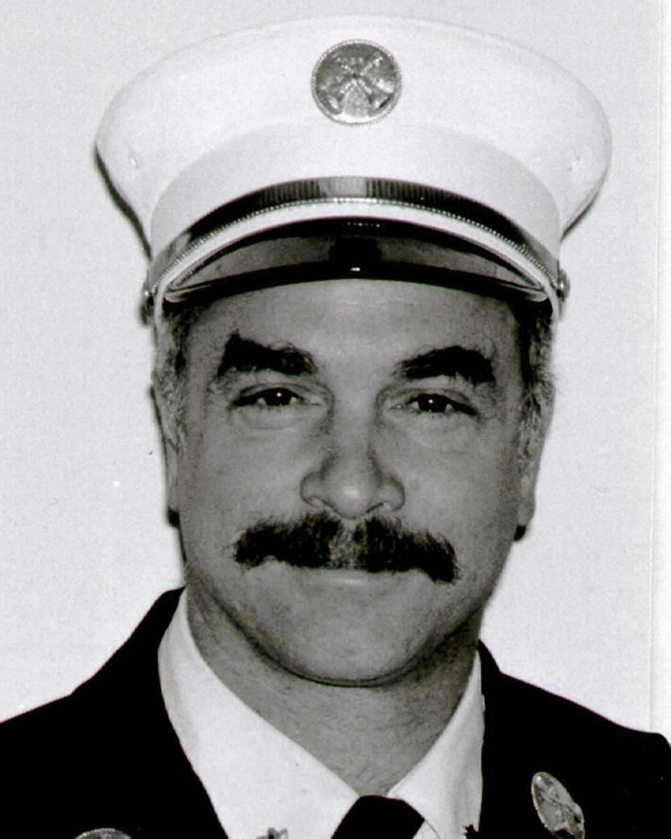 Thomas P. DeAngelis, 51, of Westbury, was chief