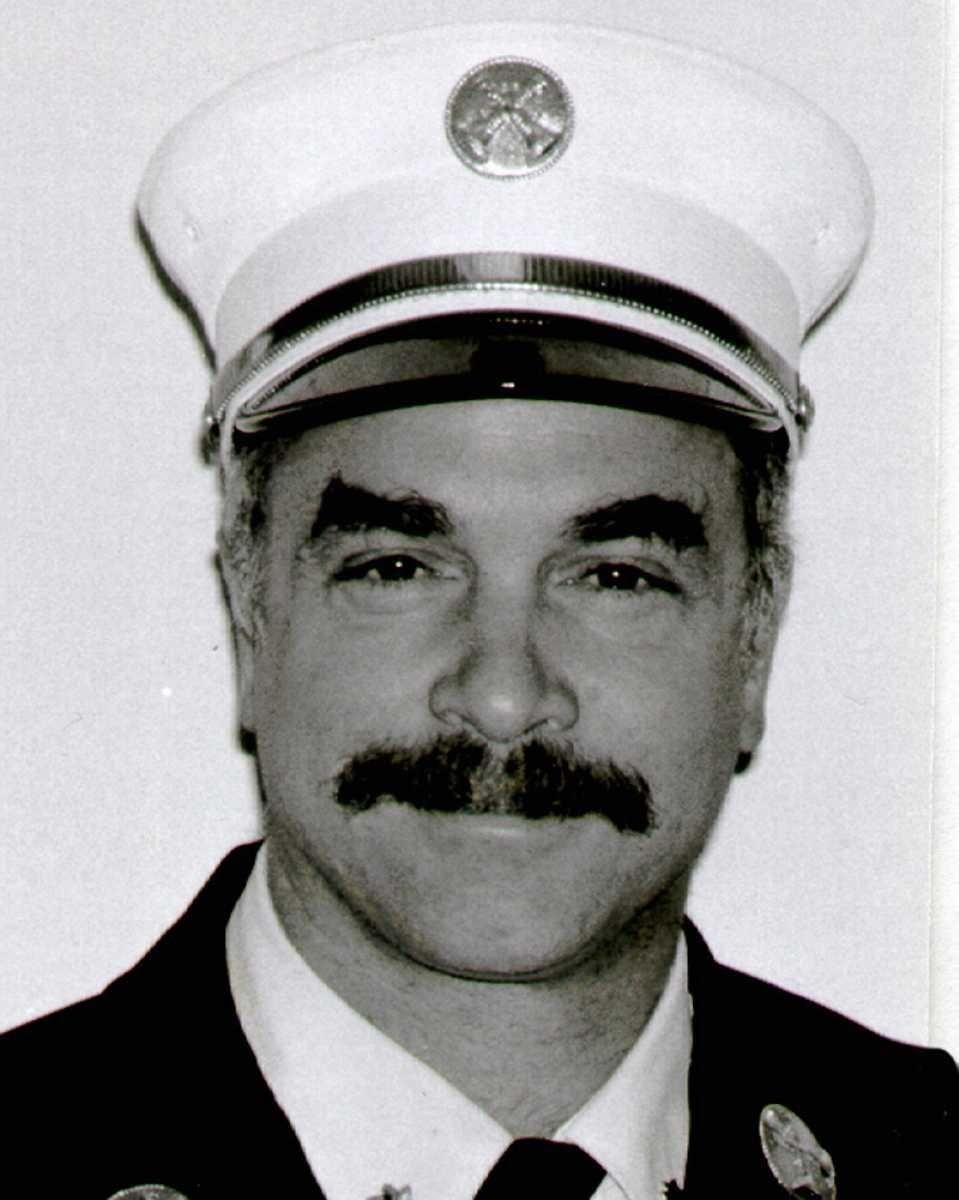 Thomas P. DeAngelis, 51, of Westbury, was chief