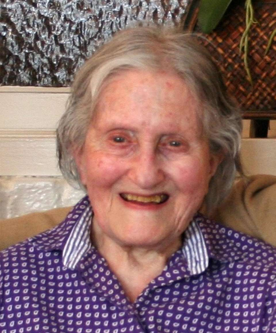 Muriel Neufeld died Friday at her home in