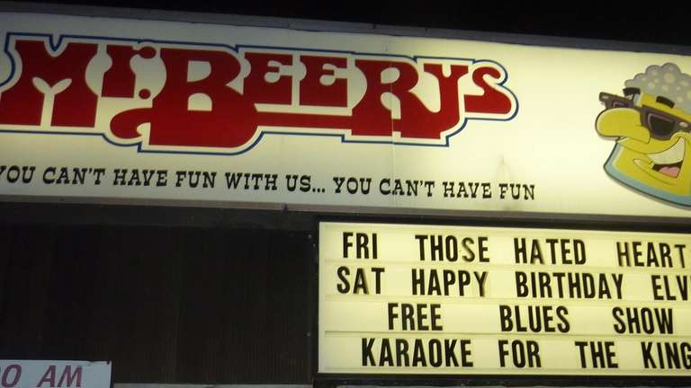 The open-mic night at Mr. Beery's has morphed