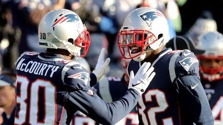 Jason McCourty #30 of the New England Patriots