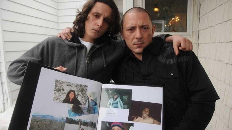 Bjorn Brodsky, left, boyfriend of Amber Lynn Costello,