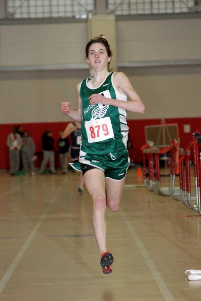 Harborfields' Kelsey Margey won the girls 1000-meter race