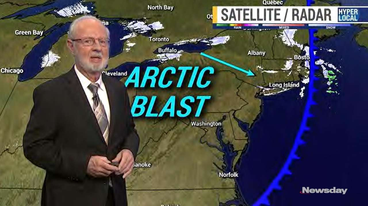 News 12 Long Island meteorologist Bill Korbel on