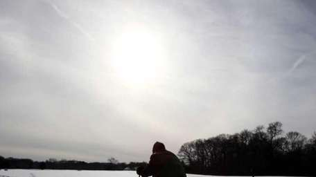 Cross-country skiing is a popular winter sport at
