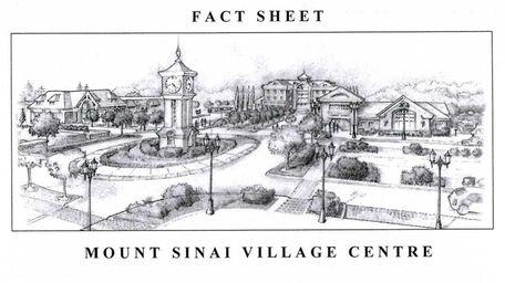 Developer Paul Elliott's plan for Mount Sinai Village