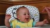 At this age, infants can view pictures, then