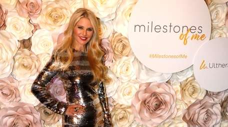 Christie Brinkley celebrated with friends and family