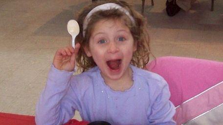 A young taster at Souper Bowl 2011, a