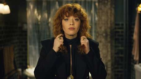Natasha Lyonne stars as Nadia in Netflix's Season