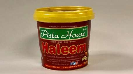 Haleem, a sort of meat-wheat porridge, is the