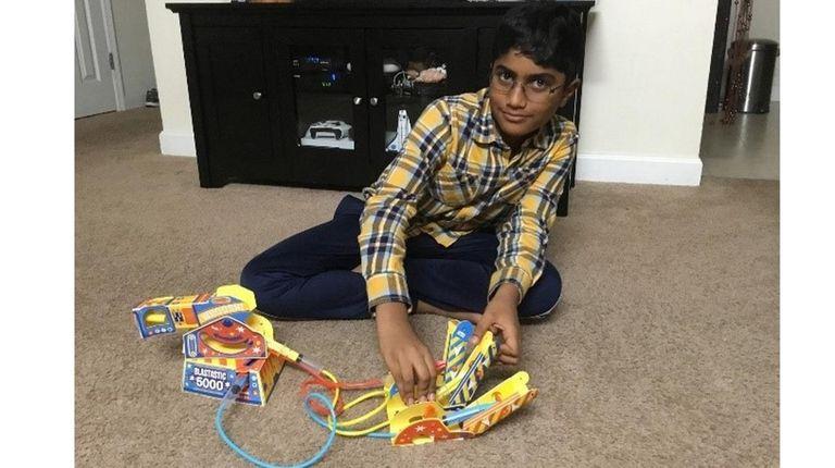 Kidsday reporter Pranav Vijayababu of Bretton Woods Elementary